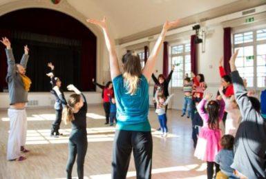 Atelier danse en famille
